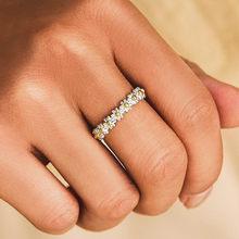 Vintage doce pouco daisy anel para as mulheres mini bonito branco flor anéis ajustável aberto manguito festa de casamento beleza jóias 2021