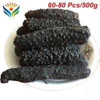 Grade AAA+ 100% Natural Sun Dried Sea Cucumber 60 80 pieces/500g