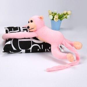 Image 5 - 60Cm Grappige Aap Dier Lange Handen Doll Zachte Pluche Baby Speelgoed Kinderwagen Slapen Gevulde Speelgoed Poppen Kinderen Gift