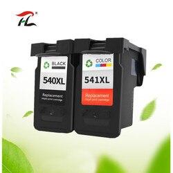 PG-540 CL-541 dla Canon PG540 CL541 pojemnik z tuszem pg 540 dla Pixma MG4250 MG3250 MG3255 MG3550 MG4100 MG4150 drukarki