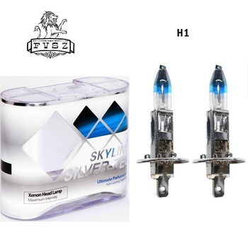 2Pcs H1 12V 55W 4300k Car halogen headlights bulb mobile Ultra bright lamp Auto bulbs Warm White Light 2pcs h7 6000k gas halogen headlight blue housing provides white light lamp bulbs 55w 12v automotive headlights