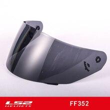 Original LS2 FF352 helmet visor suitable for FF384 FF351 helmets transparent lens