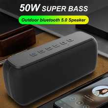 50 Вт bluetooth Динамик Колонка звуковая панель Портативный