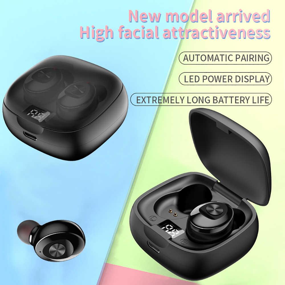 QCR XG8 TWS Bluetooth 5.0 イヤホンステレオワイヤレス Earbus 8D ハイファイサウンドスポーツイヤホンハンズフリーのゲーミングヘッドセット