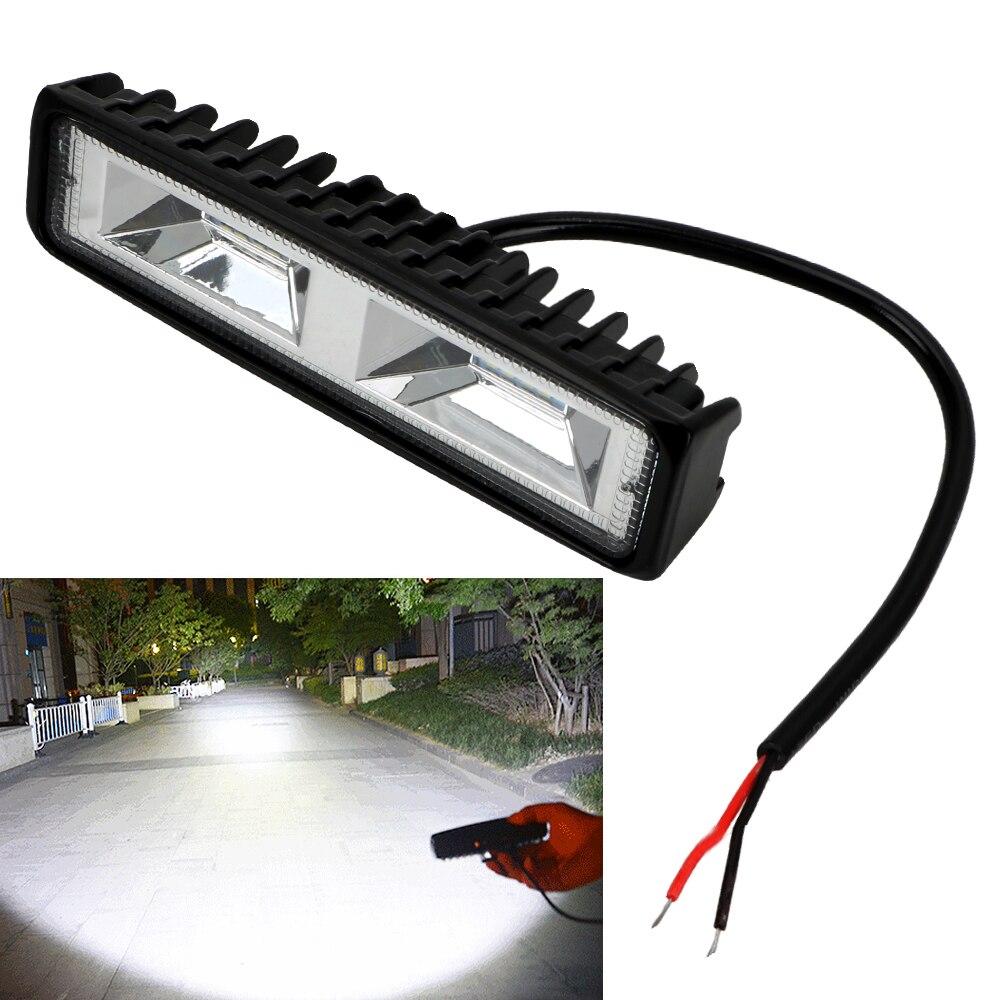 LED Scheinwerfer 12 24V Für Auto Motorrad Lkw Boot Sattelzug Offroad Arbeits Licht 36W LED Arbeit licht Scheinwerfer|Lichtbalken/Arbeitslicht|   -