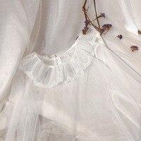 Lace Base Shirt Women's Bell Sleeve Chiffon Tops Summer Immortal Elegant Sweet Underwear Ladies' Long Sleeve Gauze Outer Wear