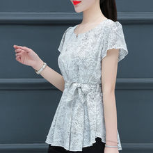Fashion Women Spring Summer Style Chiffon Blouses S