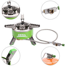 BRS-73 Powerfully Folding Outdoor Gas Stove 4200W Camping Stoves Portable Furnace Cooking Picnic Stoves Cooker Camping Burner