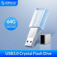ORICO clé USB 3.0 cristal 64GB 32GB 16GB USB 3.0 mémoire Flash clé USB clé Flash disque Flash stockage Mini u-disk