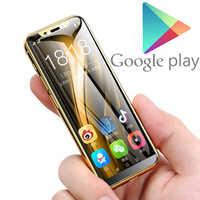 "Suporte google play 3.5 ""pequeno mini telefone móvel android 8.1 mtk6739 quad core 2 gb + 16 gb 64 gb 4g smartphone duplo sim k-touch i9"