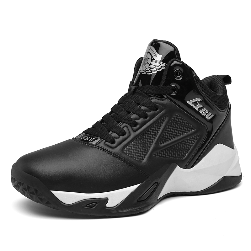 Men Basketball Shoes Sport Quality Anti slip Basketball Sneakers Male Lace up Sports Gym Man Ankle Boots Shoes Basket Homme|Basketball Shoes| |  - title=
