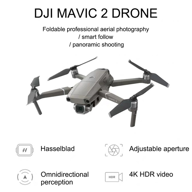 DJI Mavic 2 with screen professional version zoom aerial drone aircraft long battery