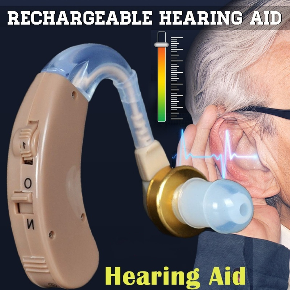 Wireless Mini Digital Hearing Aid Portable Sound Amplifier Earphone Ear Aids for Elderly Hearing impaired hearing help device
