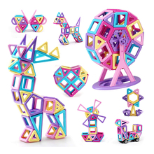 299PCS Castle Magnetic Building Blocks Magnetics Construction Booklet Learning & Development Kids Games Toys Gift