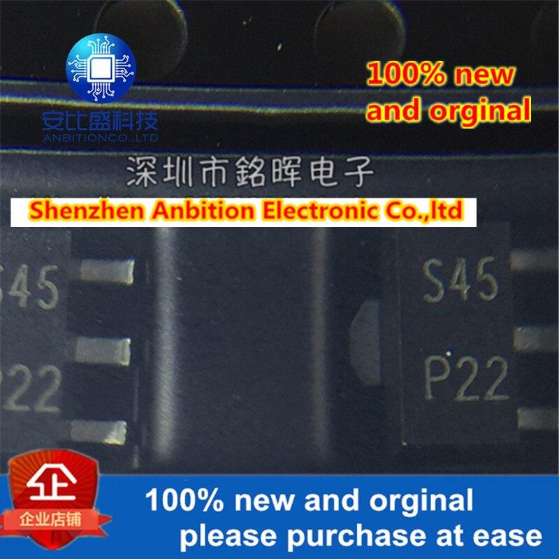 10 шт. 100% новый и оригинальный PBSS5320X шелкография S45 SOT89 20 в 3A PNP транзистор в наличии