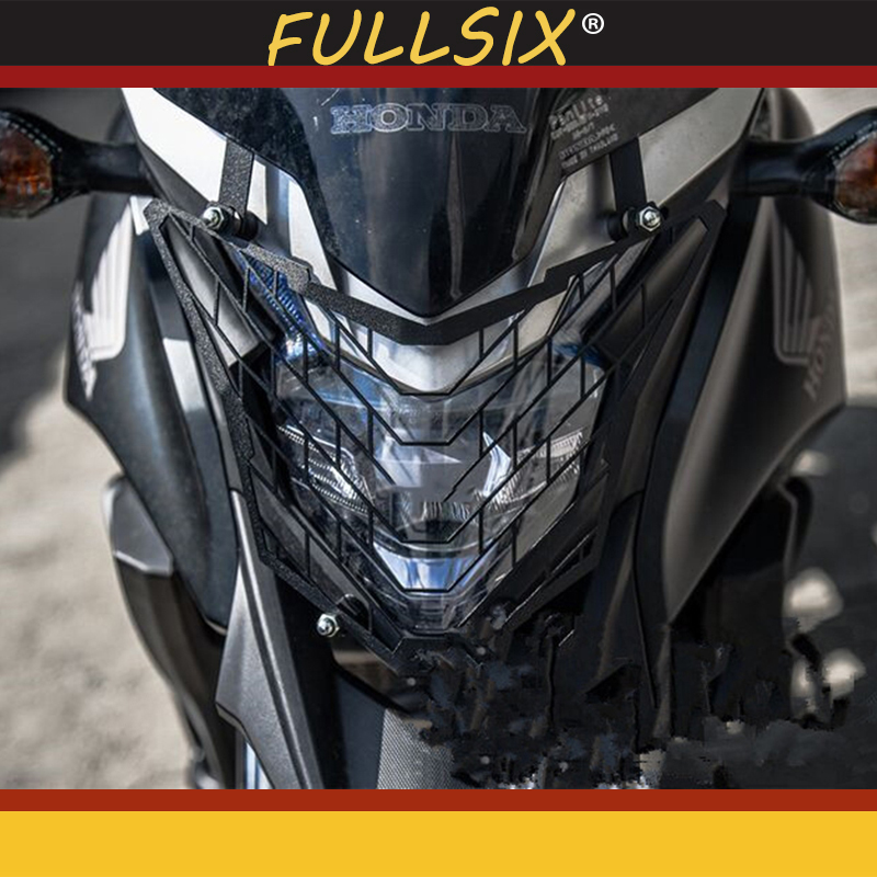 Motorcycle modification Headlight Guard Protector Grille Cover For <font><b>CB500X</b></font> <font><b>cb500x</b></font> 2016- <font><b>2018</b></font> Grille Guard Cover Protector image