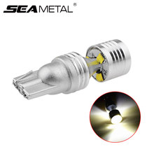 12V Car Light Bulb T10 W5W 194 Canbus No Error Auto Interior Clearance Lights Door Lamps License Plate Light Decorative LED Bulb(China)