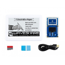 Waveshare 7.5Inch Nfc-Powered Hd E-Papier Evaluatie Kit, Draadloze Aandrijven & Data Transfer