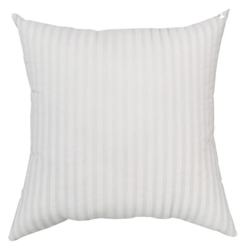45*45Cm Cotton Pillow Core Hypoallergenic Throw Pillows Soft Sofa Car Cushion Filling