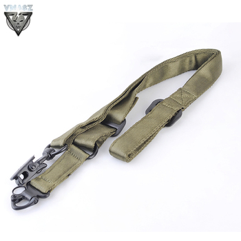 VMASZ Tactical Airsoft MS2 Tactical Multi-Mission Rifle Sling Gun Strap System Mount Set Stock Hunting Accessories