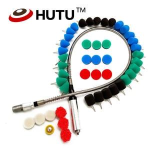 Image 3 - Outil rotatif adapté pour meuleuse, graveur, perceuse, polisseuse, 106CM, arbre Flexible, pour voiture, M14