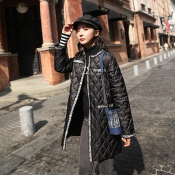 New Women Vintage Style Long Down Jacket White Duck Down Jackets Autumn Warm Coats And Parkas Female Outwear winter jackets women 90% white duck down print colourful parkas with hooded coats long down warm casual snow outwear