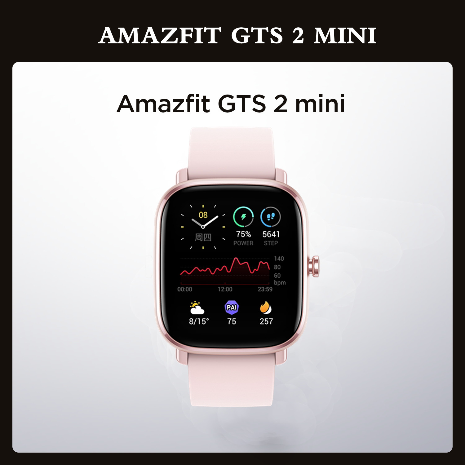 Permalink to Amazfit GTS 2 Mini Smartwatch GPS Bluetooth-compatible Female Cycle Tracking Smart Man Woman Watch For Android iOS Phone