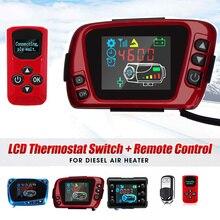 12V/24V LCD טרמוסטט תצוגת צג מתג + מרחוק בקר אביזרי עבור 5kw/8kw רכב דוד רכב חניה דיזל דוד
