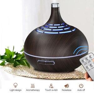 Image 3 - Umidificador de ar ultrasônico de 400ml, com aplicativo, controle de névoa, difusor de aroma, óleo essencial, luz noturna de led, escritório em casa