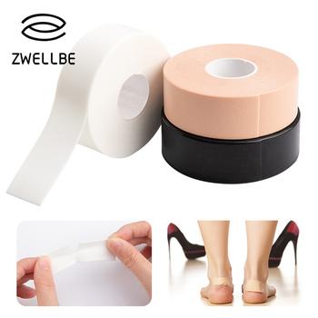 Foam Foot kukurydza modzele Toe ochraniacz na palce taśma antypoślizgowa poduszka na buty anty-tarcie szpilki ochraniacze na nóżki naklejka tanie i dobre opinie Foot Patch CN (pochodzenie) 1pc 12 5cm*5m Produkt do pielęgnacji stóp Nieelektryczne D070829 Tape sponge Protect your foot and fingers