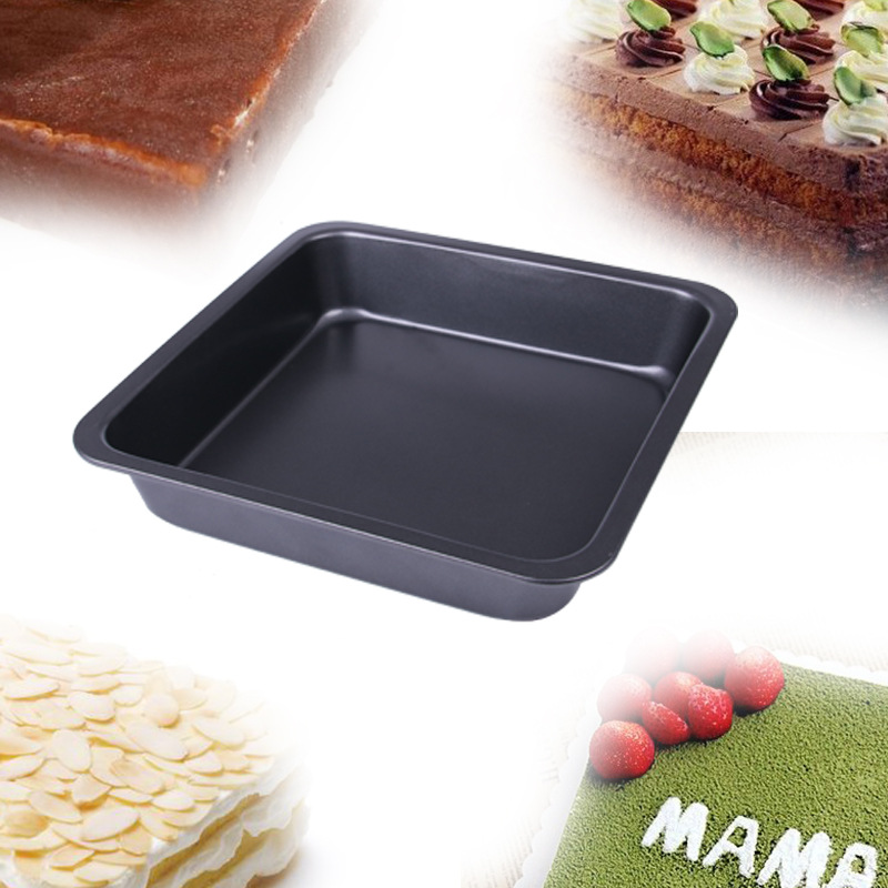 Kitchen Dining Bar Supplies Baking Tool 8 Inches Square Cake Pan