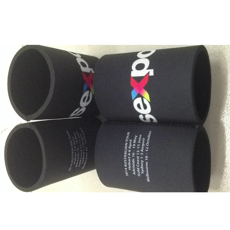 New Nice Neoprene LOGO Stubby Holders with LOGO printing Free Shipping for EMS