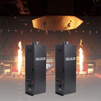 цена на 2Pcs/Lot DMX Fire Machine Spray Fire Machine Dmx Flame Projectors Stage Equipment Machine professional Stage machine
