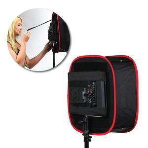 Image 5 - Studio Softbox Diffuser Voor Yongnuo YN600L Ii YN900 YN300 YN300 Iii Air Led Video Light Panel Opvouwbaar Soft Filter