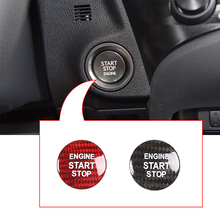 Car Engine Start Stop Switch Button Cover For Lexus IS ES GS NX RX LX RC RC-F Car Accessories For Toyota RAV4 C-HR Corolla CAMRY breathable car seat covers for lexus es is c is ls rx580 nx gs cth gx lx rc rc f car accessories stickers car styling