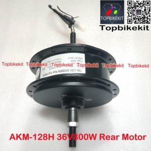 Image 4 - Q128H 36V 800W/48V800W Rear Hub Motor Fork Size 135mm for Ebike RPM 201 AKM 128H 36V /48V 800W motor for ebike motor