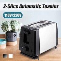 110 V/220 V Elektrische Toaster Haushalt 6 Gears Automatische Brot Backen Maker Frühstück Maschine Toast Sandwich Grill Ofen 2 scheibe-in Toaster aus Haushaltsgeräte bei