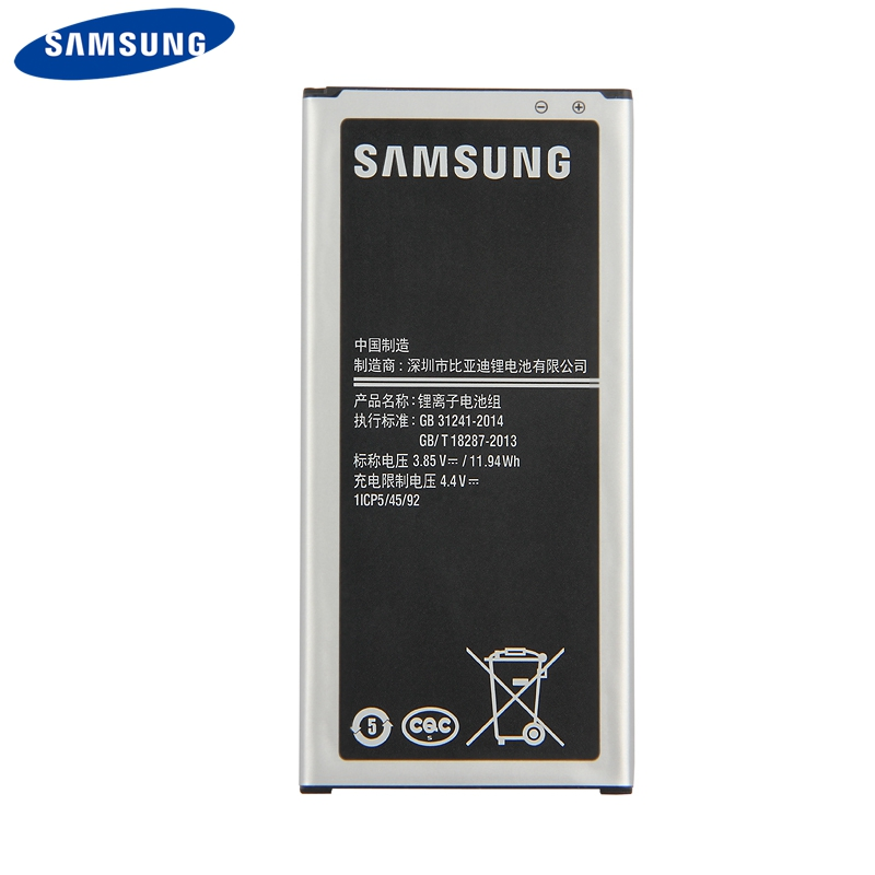 Original Replacement Phone <font><b>Battery</b></font> EB-BJ510CBC For <font><b>Samsung</b></font> GALAXY 2016 Version <font><b>J510</b></font> j5109 j5108 J5 EB-BJ510CBE <font><b>Battery</b></font> 3100mAh image