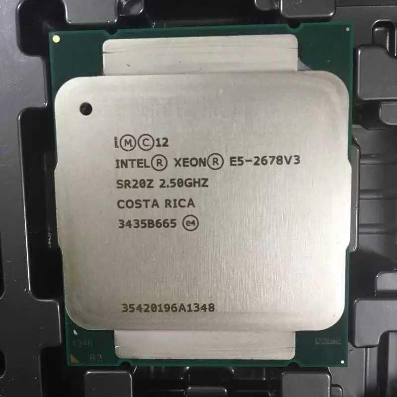 HUANANZHI X99 اللوحة مجموعة مع LGA2011-3 زيون E5 2678 V3 4 × 16GB = 64GB 1866MHz DDR3 ECC ريج الذاكرة مع الحرارة بالوعة