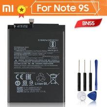 Xiao mi xiaomi bn55 bateria original para xiaomi nota 9s note9s genuíno 5020mah bateria + ferramenta 3.87v