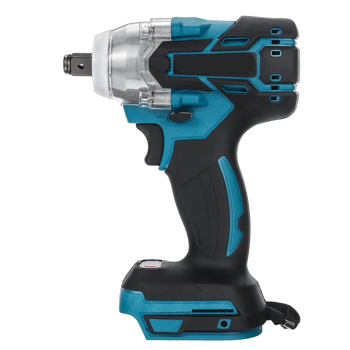 Electric Impact Wrench Brushless Cordless Rechargeable 1/2 inch Wrench Power Tools Compatible 18V Battery