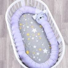 Детская подушка для новорожденного, детская кровать с рисунком, Детская безопасность, Детские бамперы, детская кроватка, переносное украшение комнаты, складная, BMT022