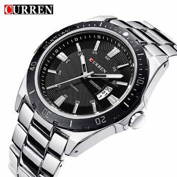 Curren 8109 Fashion Casual Men's Watch Top Brand Luxury Military Watch Waterproof