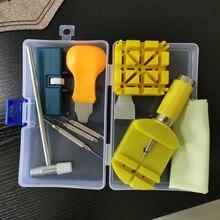 시계 수리 키트 시계 공구 작은 망치 뒤 계량기의 경우 시계 밴드를 제거하십시오 탭 수리 도구를 제거하십시오
