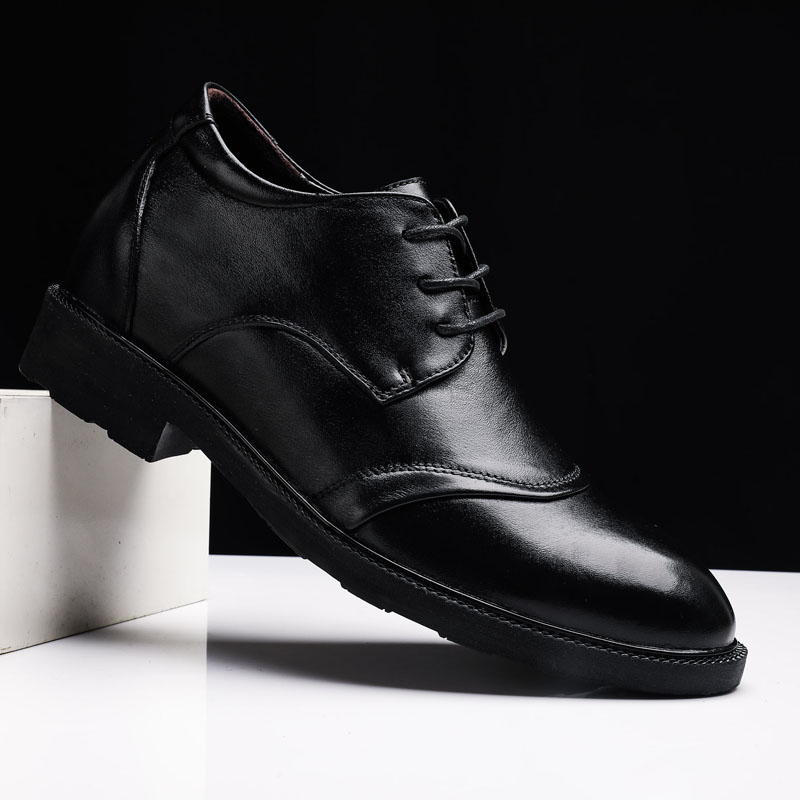 Men Oxford Leather Rubber Dress Shoes outdoor fashion Brogue Lace Up Flats Male breathable Casual Shoes Black Brown big size 48