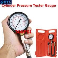 Medidor de Presión Automático G324 para coche, herramienta de diagnóstico de fugas para motocicleta, motor de Gas, cilindro, medidor de compresión