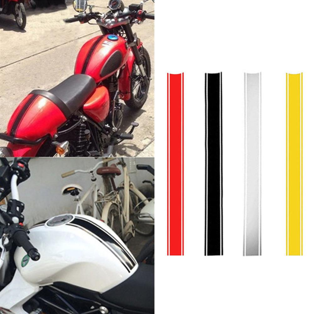 1pcs 500*45mm Motorcycle Reflective Sticker Fuel Oil Tank Pad   Waterproof For Racing Motorcycle Accessories Funny Decoration