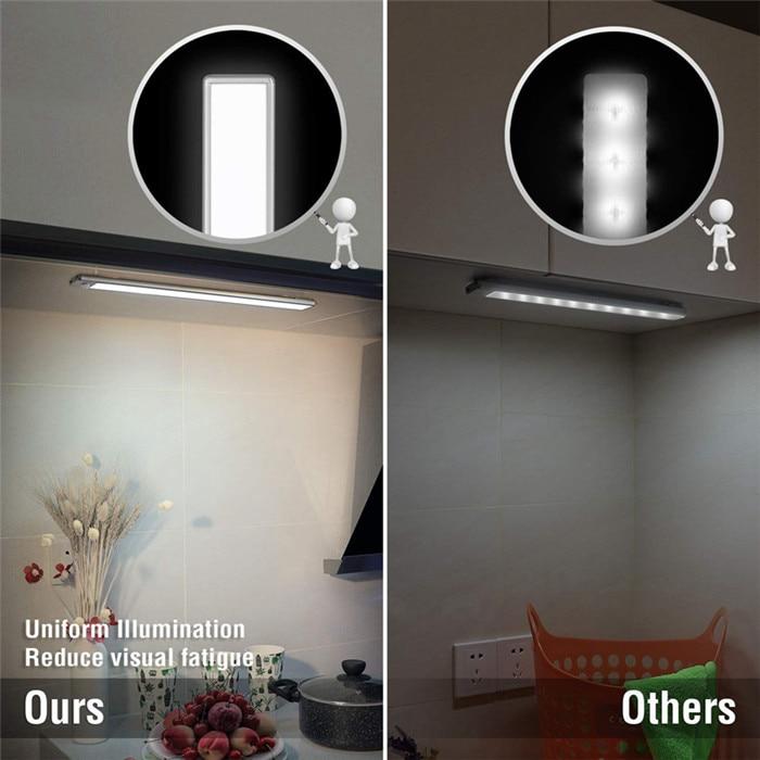 70 LED PIR Motion Sensor Under Cabinet Light 4