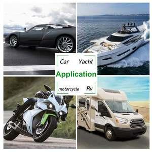 Image 2 - 1 زوج العالمي الصاخبة 400DB 12V الكهربائية الحلزون القرن الهواء القرن مستعرة الصوت ل دراجة نارية سيارة شاحنة قارب سيارة