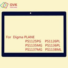 Черный 10,1 дюйма для DIGMA PLANE 1516S 1517S 1523 1524 1525 1526 3G 4G емкостный сенсорный экран панель Ремонт Запасные части